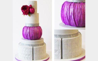 Elegante Torta a Tre Strati
