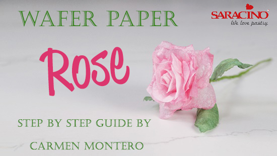 ROSA IN WAFER PAPER
